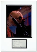 Don Bies Autograph Signed Display - Barquin D'An